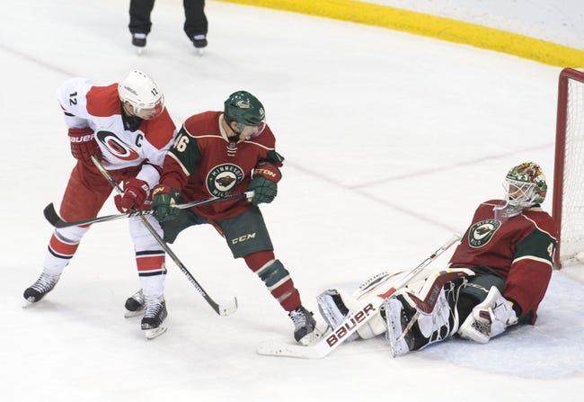 Carolina Hurricanes vs. Minnesota Wild - 3/6/15 NHL Pick, Odds, and Prediction