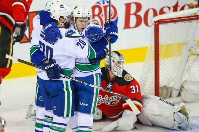 Flames at Canucks - 4/15/15 NHL Pick, Odds, and Prediction