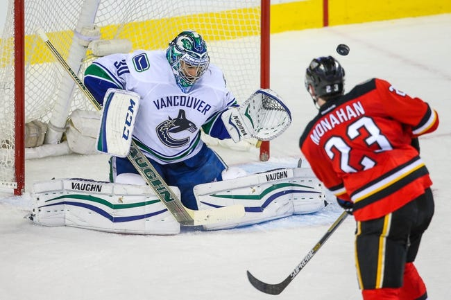 Vancouver Canucks vs. Calgary Flames - 4/15/15 NHL Pick, Odds, and Prediction