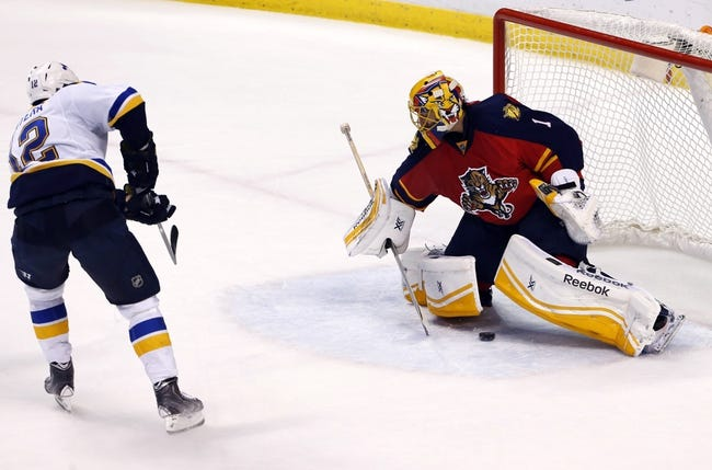 St. Louis Blues vs. Florida Panthers - 12/1/15 NHL Pick, Odds, and Prediction