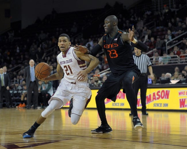 Boston College Eagles vs. Miami Hurricanes - 1/20/16 College Basketball Pick, Odds, and Prediction