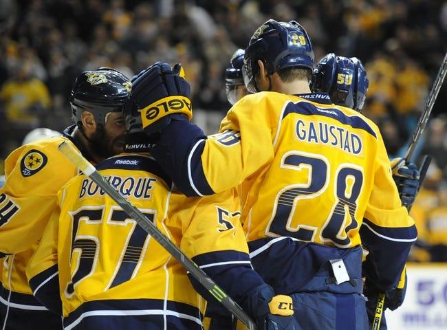 San Jose Sharks vs. Nashville Predators - 3/12/15 NHL Pick, Odds, and Prediction