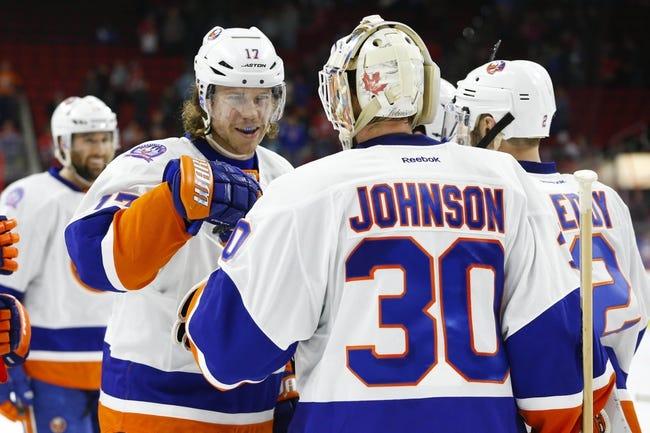New York Islanders vs. Carolina Hurricanes - 2/28/15 NHL Pick, Odds, and Prediction