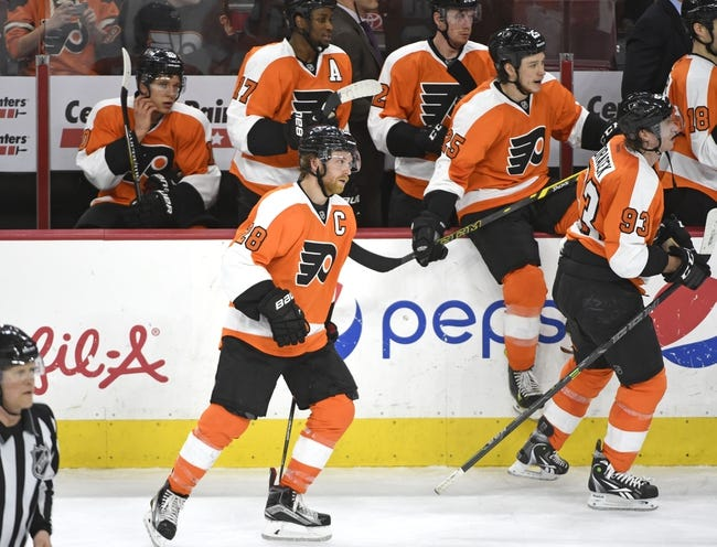 Columbus Blue Jackets vs. Philadelphia Flyers - 12/19/15 NHL Pick, Odds, and Prediction