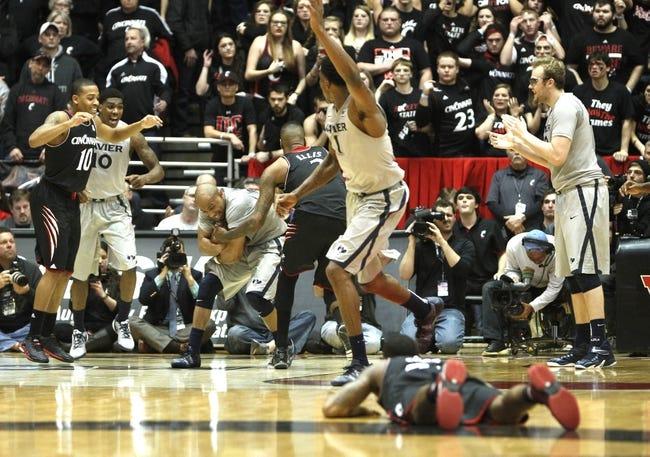 Xavier Musketeers vs. Cincinnati Bearcats - 12/12/15 College Basketball Pick, Odds, and Prediction