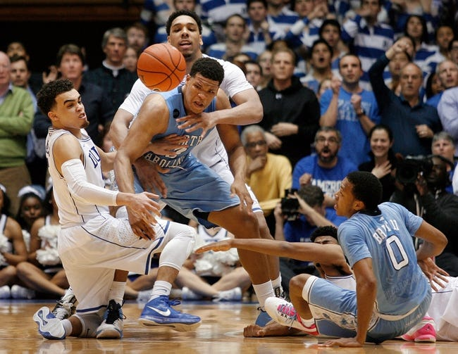 North Carolina vs. Duke - 3/7/15 College Basketball Pick, Odds, and Prediction