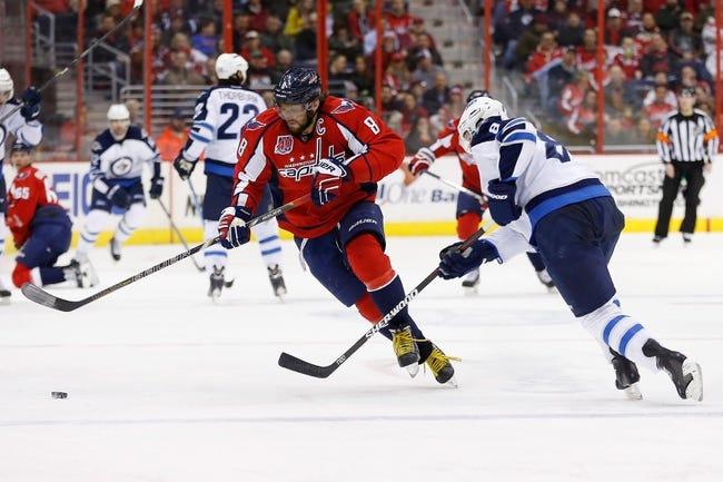 Winnipeg Jets vs. Washington Capitals - 3/21/15 NHL Pick, Odds, and Prediction