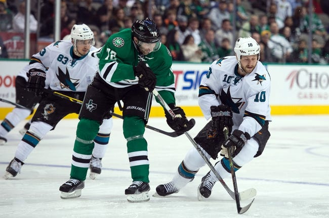 Sharks vs. Stars - 4/6/15 NHL Pick, Odds, and Prediction