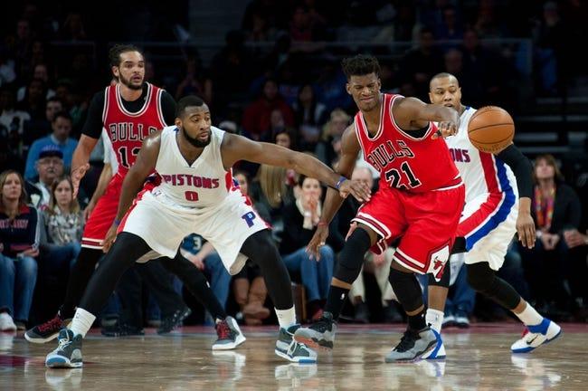 Pistons vs. Bulls - 3/21/15 NBA Pick, Odds, and Prediction
