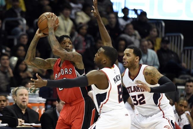 Raptors at Hawks - 12/2/15 NBA Pick, Odds, and Prediction