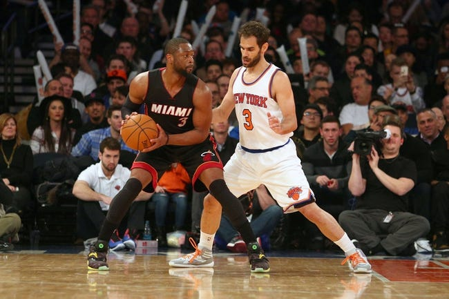 Heat vs. Knicks - 11/23/15 NBA Pick, Odds, and Prediction