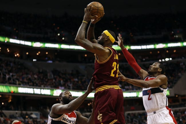 Wizards at Cavaliers - 4/15/15 NBA Pick, Odds, and Prediction