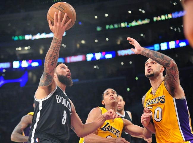 Nets vs. Lakers - 3/29/15 NBA Pick, Odds, and Prediction