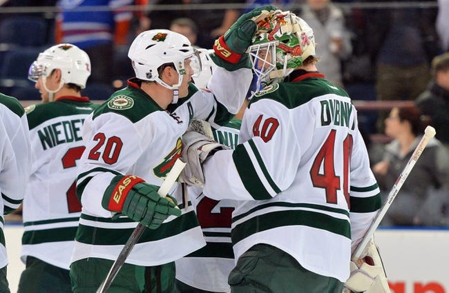 Minnesota Wild vs. Edmonton Oilers - 2/24/15 NHL Pick, Odds, and Prediction