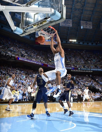 Georgia Tech Yellow Jackets vs. North Carolina Tar Heels - 3/3/15 College Basketball Pick, Odds, and Prediction