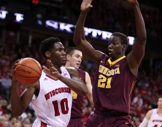 Minnesota vs. Wisconsin - 3/5/15 College Basketball Pick, Odds, and Prediction