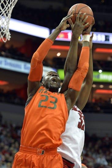 Miami vs. Louisville - 2/27/16 College Basketball Pick, Odds, and Prediction