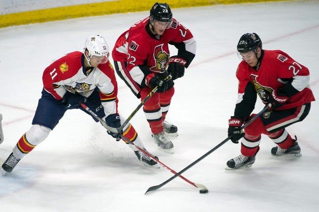 Senators vs. Panthers - 3/29/15 NHL Pick, Odds, and Prediction
