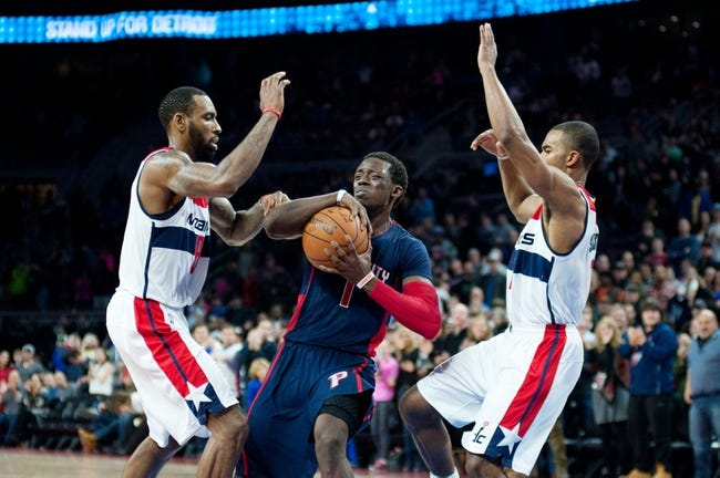 Washington Wizards vs. Detroit Pistons - 2/28/15 NBA Pick, Odds, and Prediction