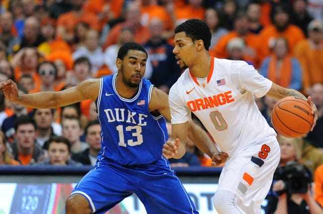 Duke vs. Syracuse - 2/28/15 College Basketball Pick, Odds, and Prediction