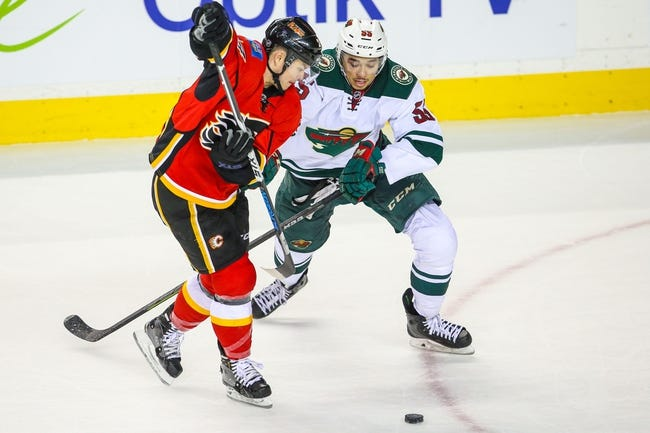Minnesota Wild vs. Calgary Flames - 3/27/15 NHL Pick, Odds, and Prediction