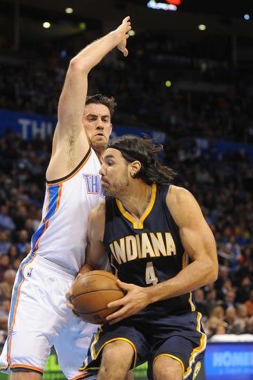 Indiana Pacers vs. Oklahoma City Thunder - 4/12/15 NBA Pick, Odds, and Prediction