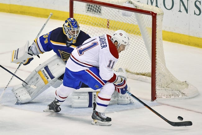 Montreal Canadiens vs. St. Louis Blues - 10/20/15 NHL Pick, Odds, and Prediction