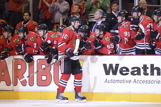 Chicago Blackhawks at Florida Panthers - 2/26/15 NHL Pick, Odds, and Prediction