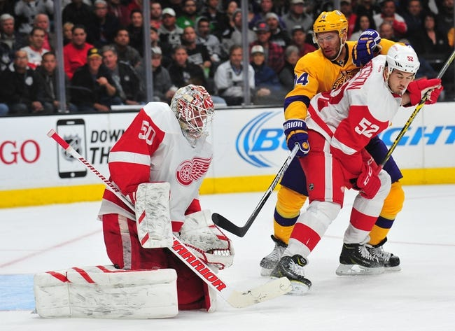 Kings vs. Red Wings - 1/11/16 NHL Pick, Odds, and Prediction
