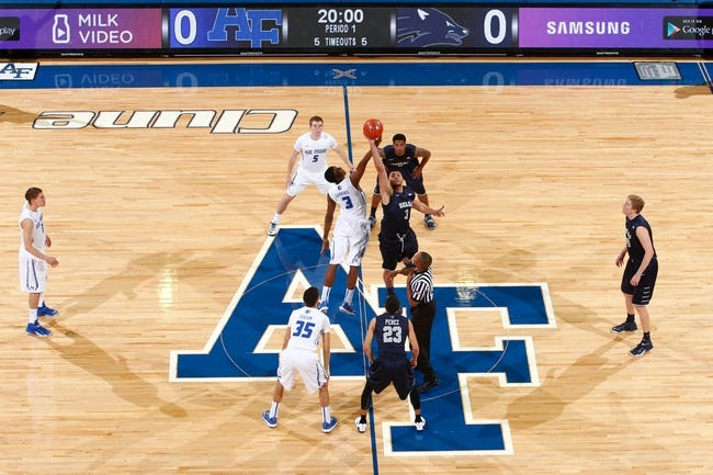 Air Force Falcons vs. Nevada Wolf Pack - 1/9/16 College Basketball Pick, Odds, and Prediction