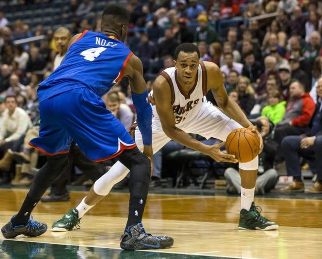 76ers vs. Bucks - 4/13/15 NBA Pick, Odds, and Prediction