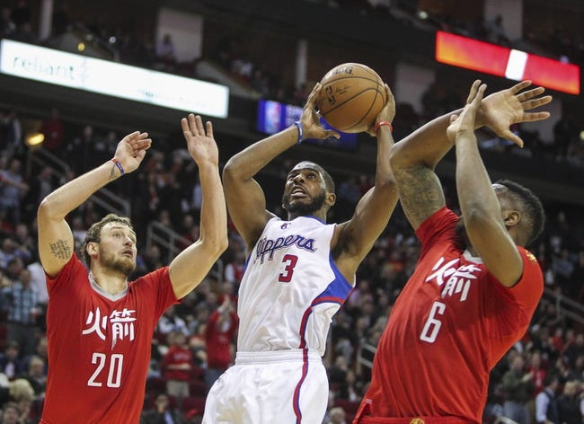 Clippers vs. Rockets - 3/15/15 NBA Pick, Odds, and Prediction