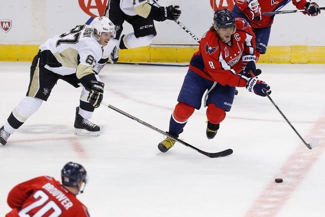 Washington Capitals vs. Pittsburgh Penguins - 10/28/15 NHL Pick, Odds, and Prediction