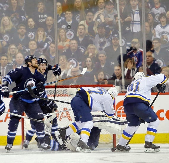 St. Louis Blues vs. Winnipeg Jets - 3/10/15 NHL Pick, Odds, and Prediction
