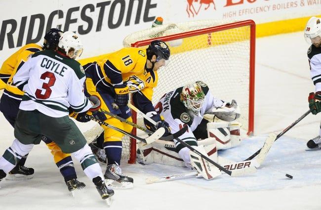 Predators vs. Wild - 3/17/15 NHL Pick, Odds, and Prediction