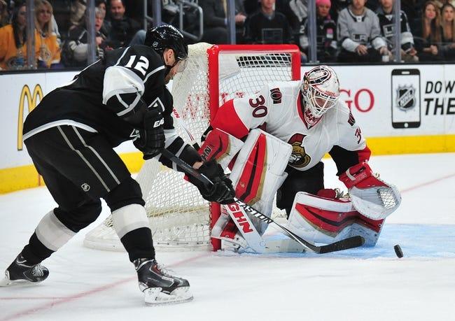 Ottawa Senators vs. Los Angeles Kings - 12/14/15 NHL Pick, Odds, and Prediction