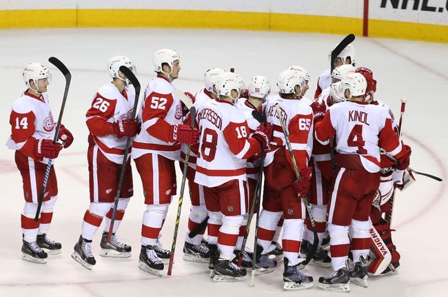 Detroit Red Wings vs. San Jose Sharks - 3/26/15 NHL Pick, Odds, and Prediction