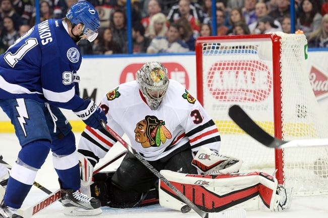 Blackhawks at Lightning - 6/3/15 Game One Pick, Odds, and Prediction