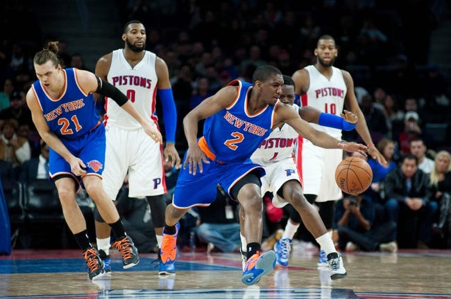 Pistons at Knicks - 4/15/15 NBA Pick, Odds, and Prediction