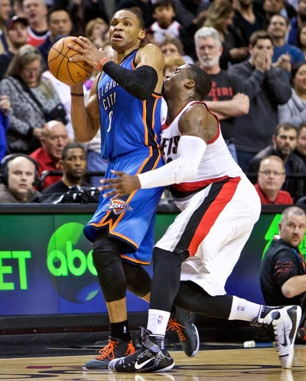 Oklahoma City Thunder vs. Portland Trail Blazers - 4/13/15 NBA Pick, Odds, and Prediction