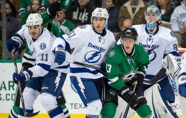 Lightning vs. Stars - 3/7/15 NHL Pick, Odds, and Prediction