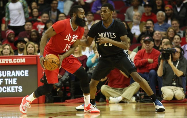 Houston Rockets vs. Minnesota Timberwolves - 3/27/15 NBA Pick, Odds, and Prediction