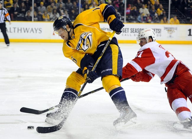 Detroit Red Wings vs. Nashville Predators - 12/5/15 NHL Pick, Odds, and Prediction