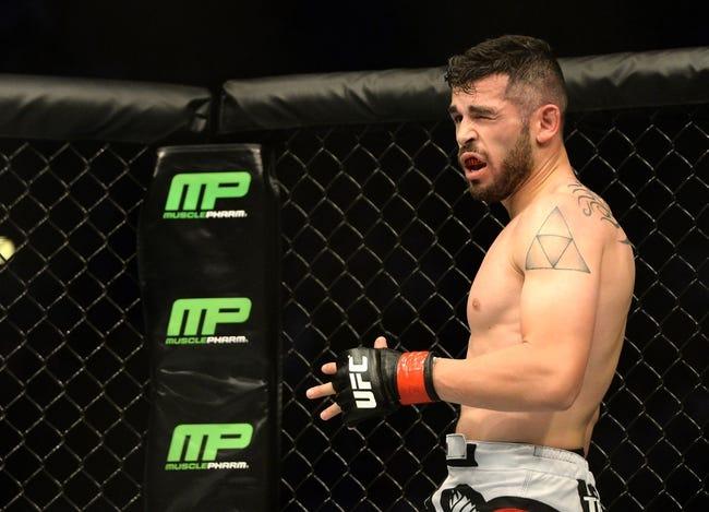 Marlon Vera vs. Roman Salazar MMA Pick, Preview, Odds, Prediction - 8/8/15