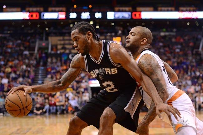 San Antonio Spurs vs. Phoenix Suns - 4/12/15 NBA Pick, Odds, and Prediction