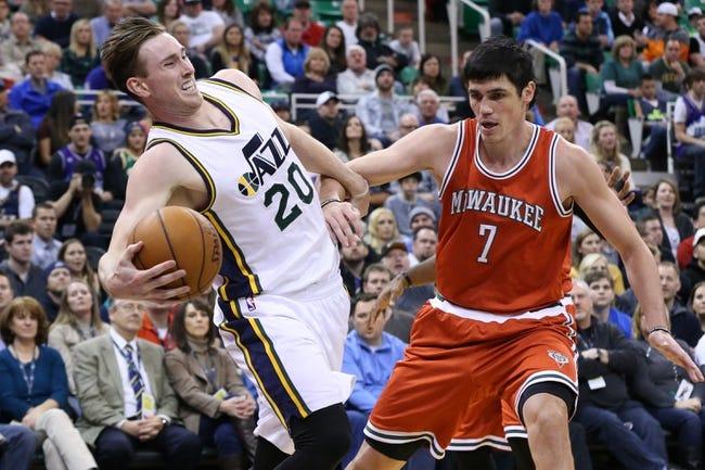 Bucks at Jazz - 2/5/16 NBA Pick, Odds, and Prediction