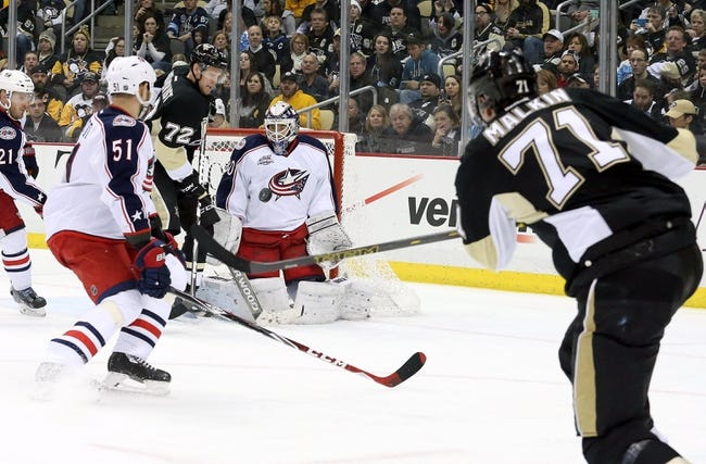 Blue Jackets vs. Penguins - 4/4/15 NHL Pick, Odds, and Prediction
