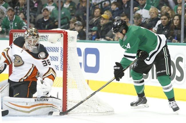 Stars at Ducks - 4/8/15 NHL Pick, Odds, and Prediction