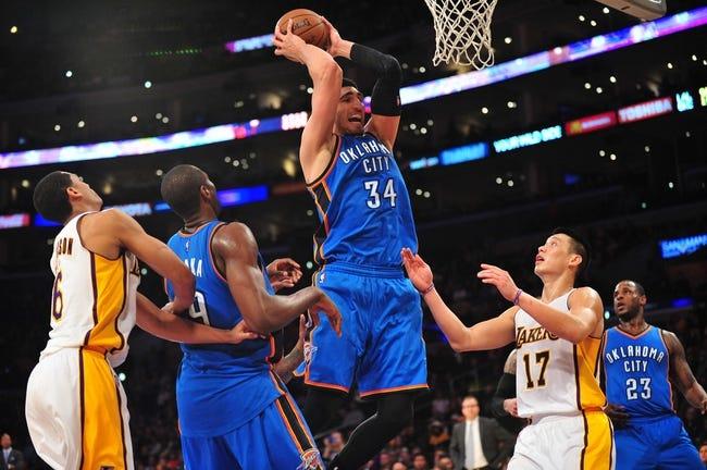 Thunder vs. Lakers - 3/24/15 NBA Pick, Odds, and Prediction