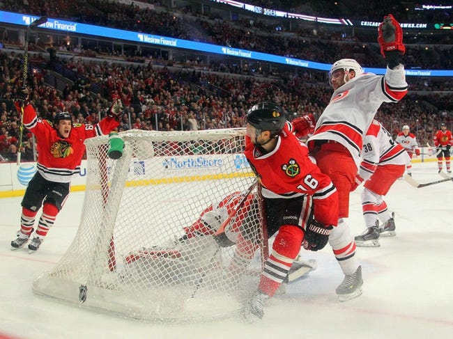Carolina Hurricanes vs. Chicago Blackhawks - 3/23/15 NHL Pick, Odds, and Prediction